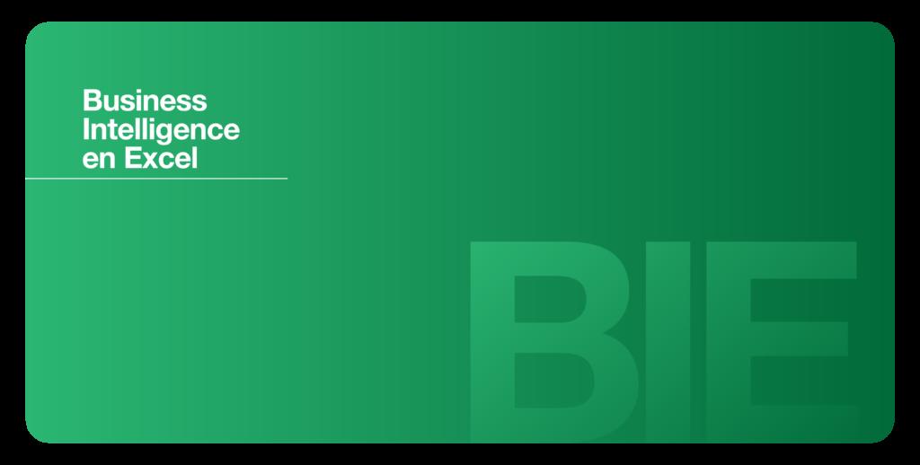 Business Intelligence en Excel