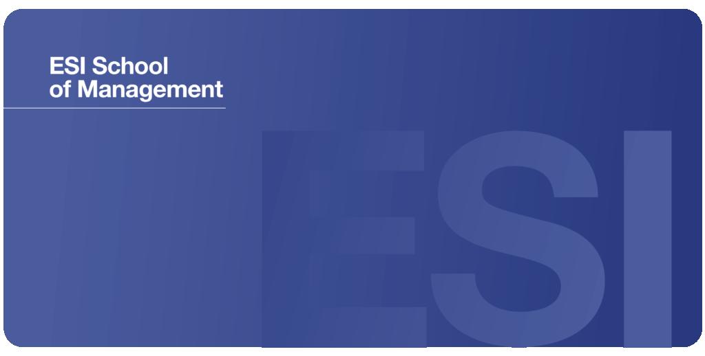 ESI School of Management